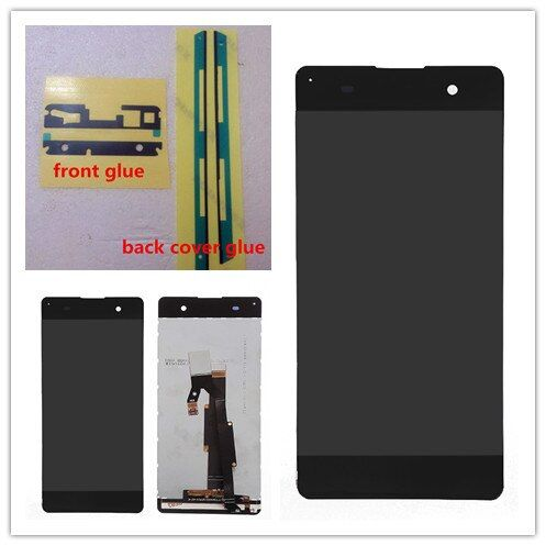 5.0 '' White or Black For Sony Xperia XA F3111 F3113 F3115 LCD display Touch Screen Digitizer full Assembly replacement parts