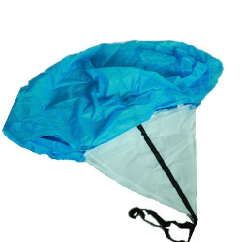 122CM Speed Training Parachute Running Chute - Blue
