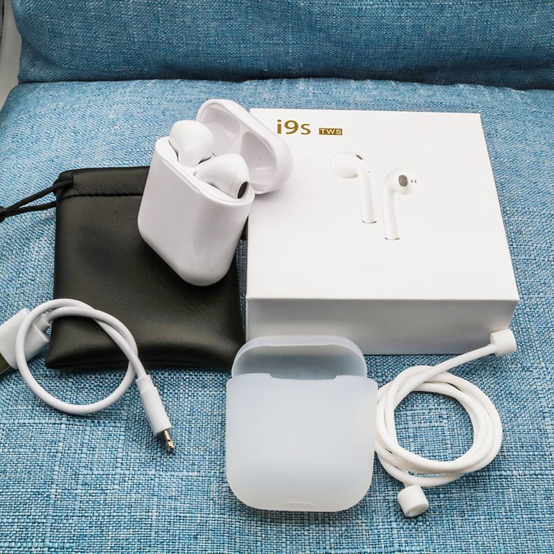New i9S TWS Mini Bluetooth Earphones Original headphones Wireless Earbuds Headsets Wireless Air Pods For Xiaomi IPhone Android