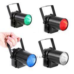 La Dernière 15 W RGBWA 5in1 Spotlight LED RGBW 4in1 led pin spot faisceau lumières pour Miroir Balle Pour Disco DJ Party Événement Spectacle