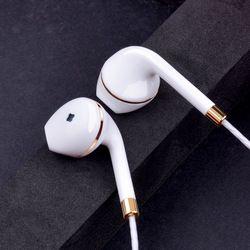 Nouveau in-ear écouteur pour apple iphone 5S 6 s 5 xiaomi basse intra-auriculaires casque Stéréo Casque Pour Apple Earpod Samsung sony écouteur