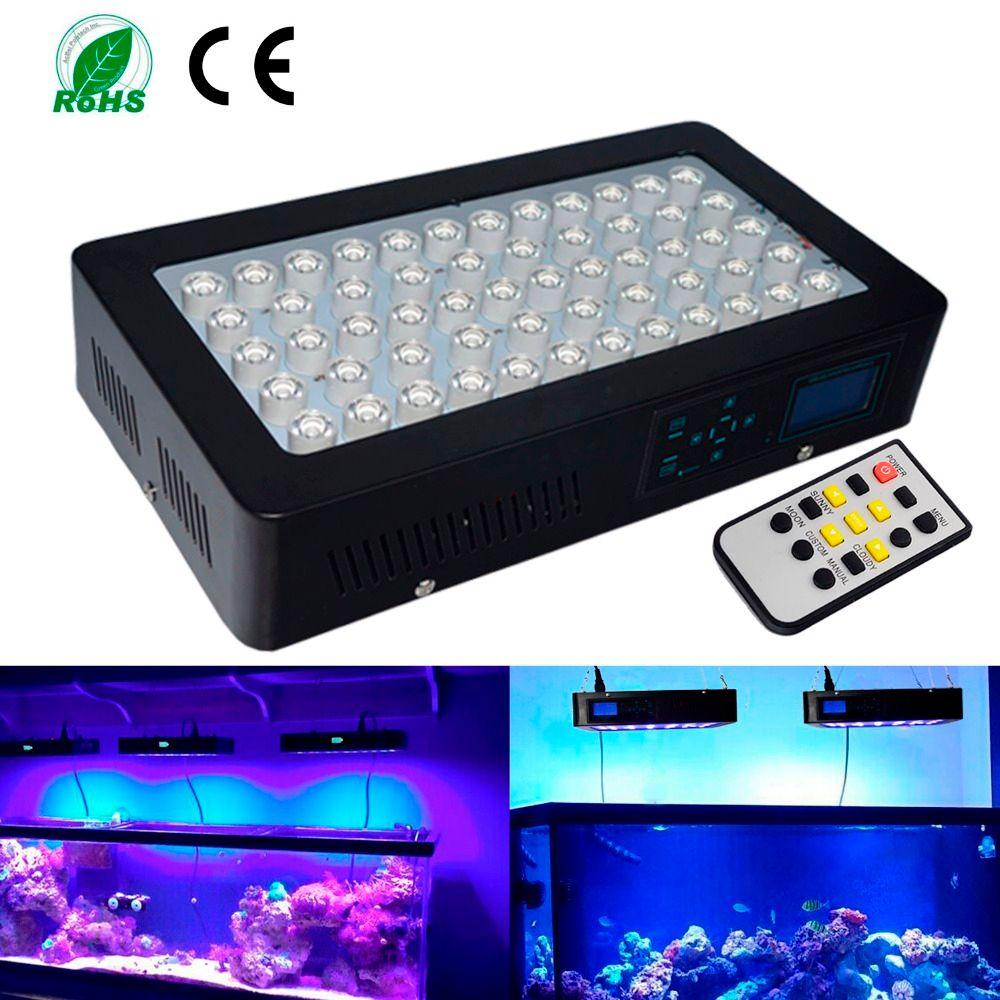 Sonnenaufgang und Sonnenuntergang Programmierbare 150 Watt Led Aquarium Licht Dimmbare Led-Licht für Riffkoralle Fisch für Ihre Schöne Tank