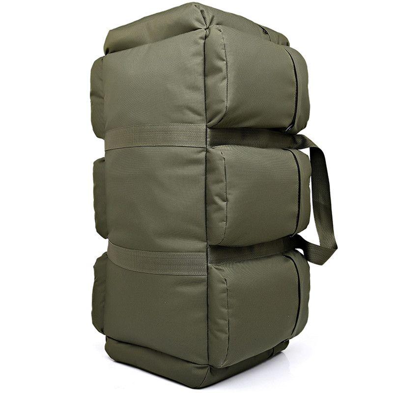 90L Große Kapazität männer Militärische Taktische Rucksack Wasserdichte Oxford Wandern Camping Rucksäcke verschleißfesten Reisetasche