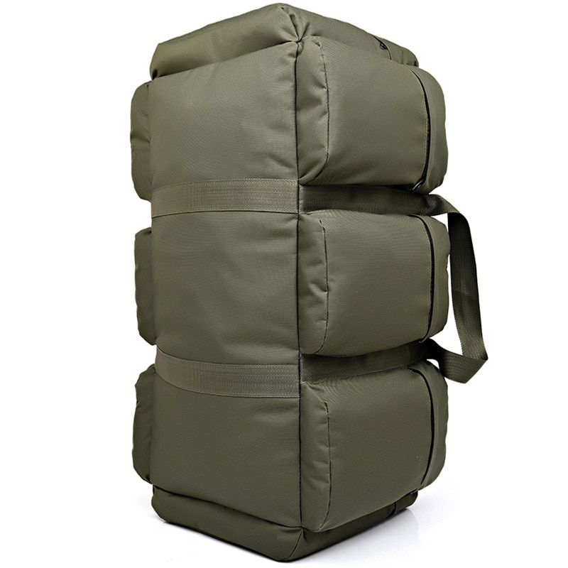 90L Large Capacity Men's Military Tactical Backpack Waterproof Oxford Hiking Camping Backpacks Wear-resisting Travel Bag