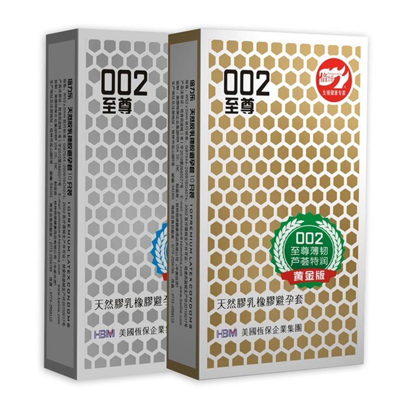 20 pcs La Ultra-Mince 002 Latex Naturel Préservatifs En Caoutchouc Ultra mince Mais Super Forte Marque Préservatifs Pour Hommes Produits de Sexe