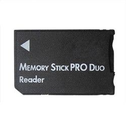 New Arrival SDHC TF to MS Pro Duo Card Reader Adapter Converter Memory Stick For PSP 1000 2000 3000