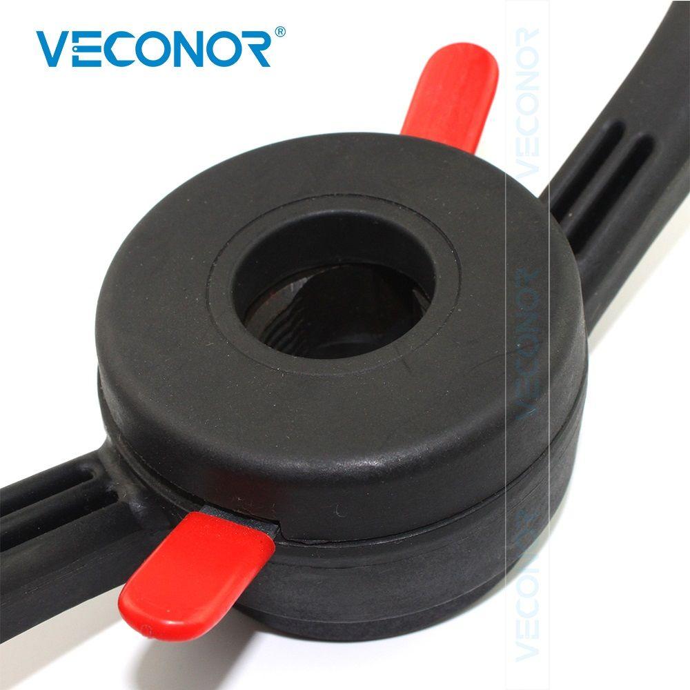 Veconor 40X3mm pas rapide écrou écrou de crochet vis écrou à oreilles jante Insert écrou matière plastique rigide pour équilibreuse de roue Machine