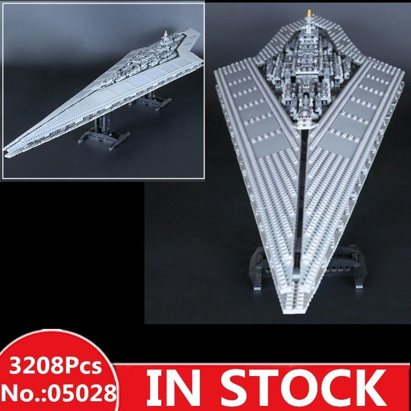 H&HXY IN STOCK 3208PCS 05028 Building Blocks Star Imperial Destroyer wars LEPIN Model Bricks Christmas Toys Compatible 10221