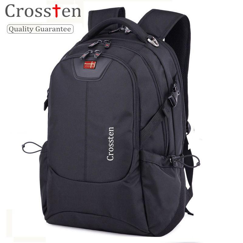 Crossten Multifunctional USB Charging Laptop Bag Waterproof 16