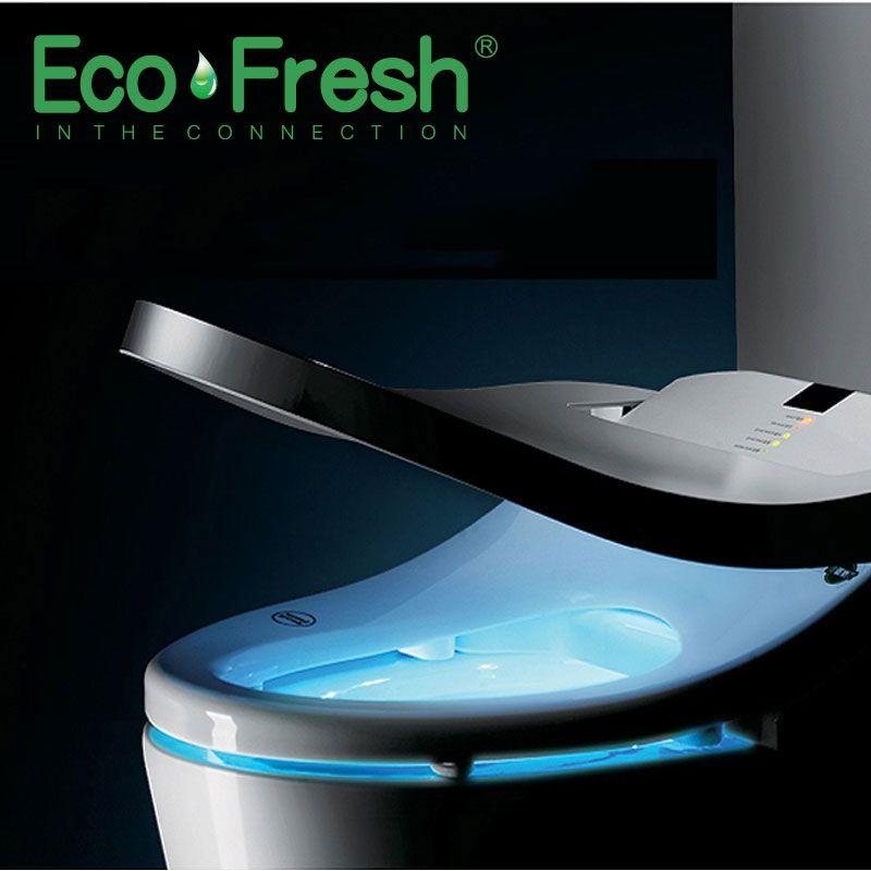 EcoFresh Smart wc sitz Dusch-wc Elektrische Bidet abdeckung intelligente bidet wärme saubere trocknen Massage pflege für kind frau die alten