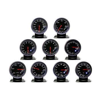 CNSPEED 60 MM Noir Visage turbo Boost, Eau/Huile temp, presse À Huile, Voltmètre, Air/carburant/gaz D'échappement temp, tachymètre