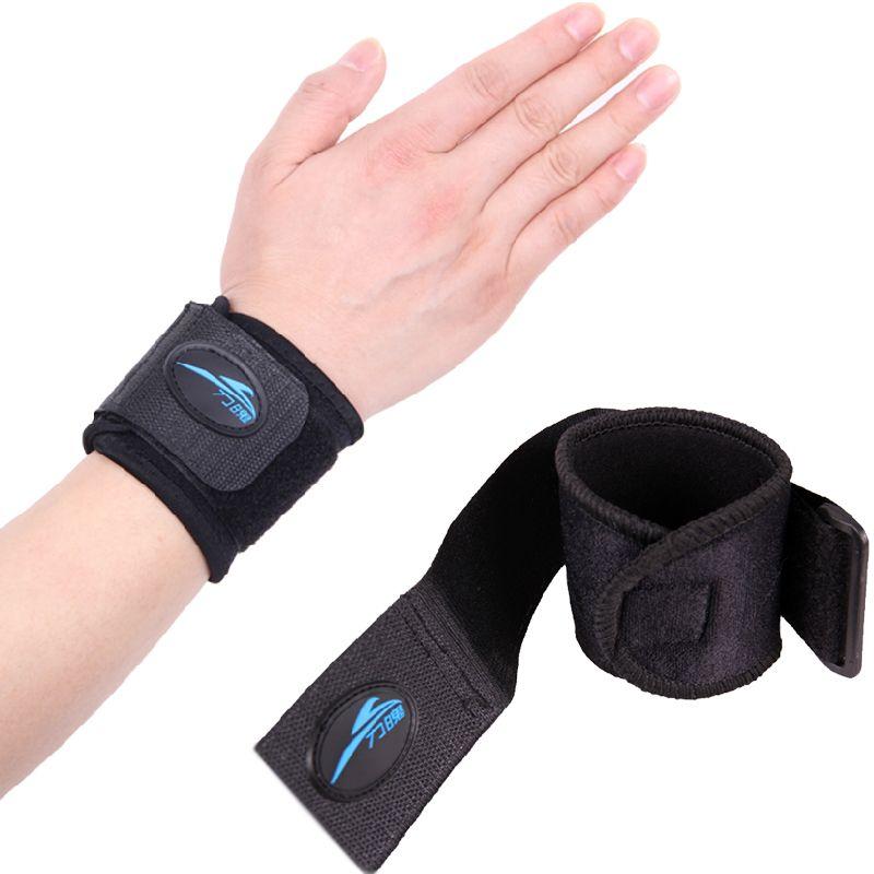 1 Paire Support de Poignet de Sport De Tennis Haltérophilie Volleyball Bracelet de Brassards fitness gym Wrap Bandage Bracelet Poignet Brace