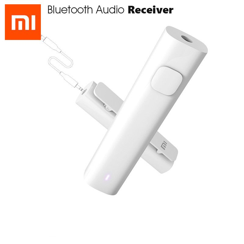 Original Xiaomi Mi Bluetooth Audio Receiver Portable Wired To Wireless Media Adapter For 3.5mm Earphone Headset Speaker Car AUX
