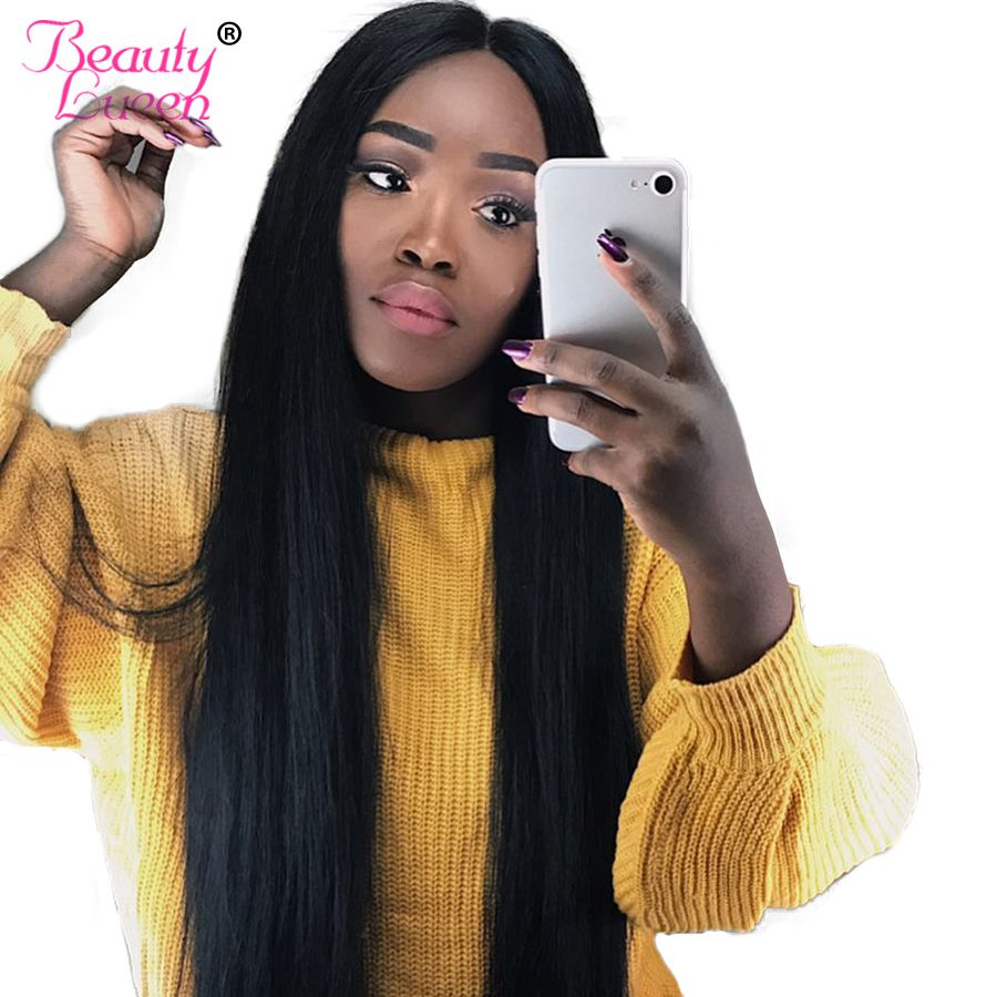 Human Hair Bundles Brazilian Straight Hair Weave 1 Bundles 8-28 inch Natural Color Can Buy 3/4 Piece Non Remy Beauty Lueen Hair