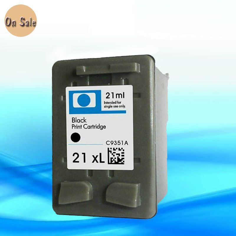 Ink  Cartridge for HP 21  For HP21 C9351A Black quality ink cartridges for HP D2330/D2360/D2460/F310/Fax 1250 Printer