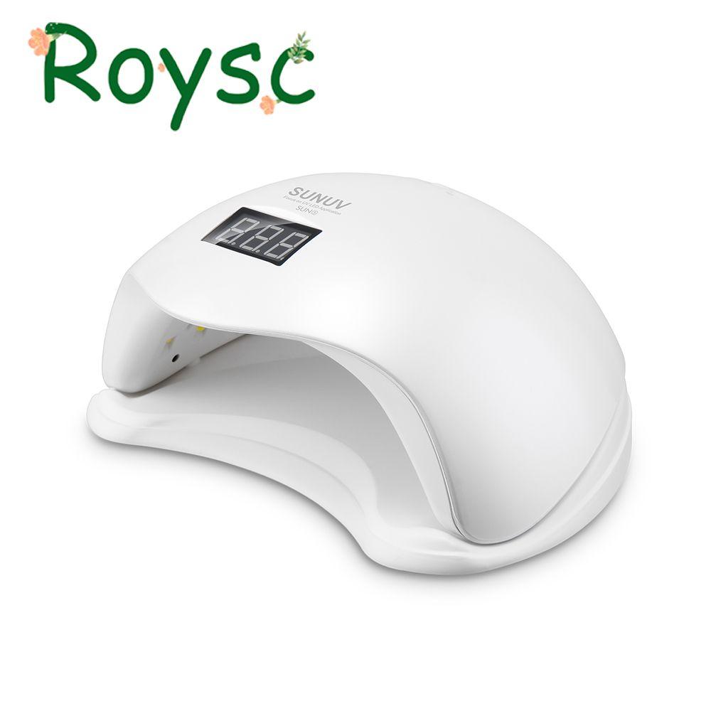 UV Lamp LED Auto Sensor Dryer 48W Sun5 Gel Polish UV Light Nail Dryer with Bottom Timer LCD display 48W Nail instrument (2)