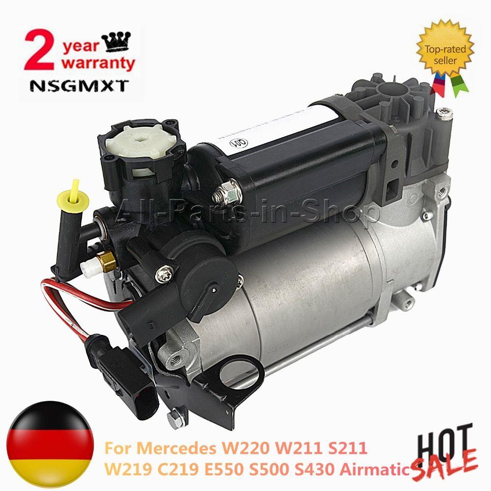 Air Suspension Compressor Pump For Mercedes W220 W211 S211 W219 C219 E550 S500 S430 Airmatic 2113200104 2203200104 2203200304