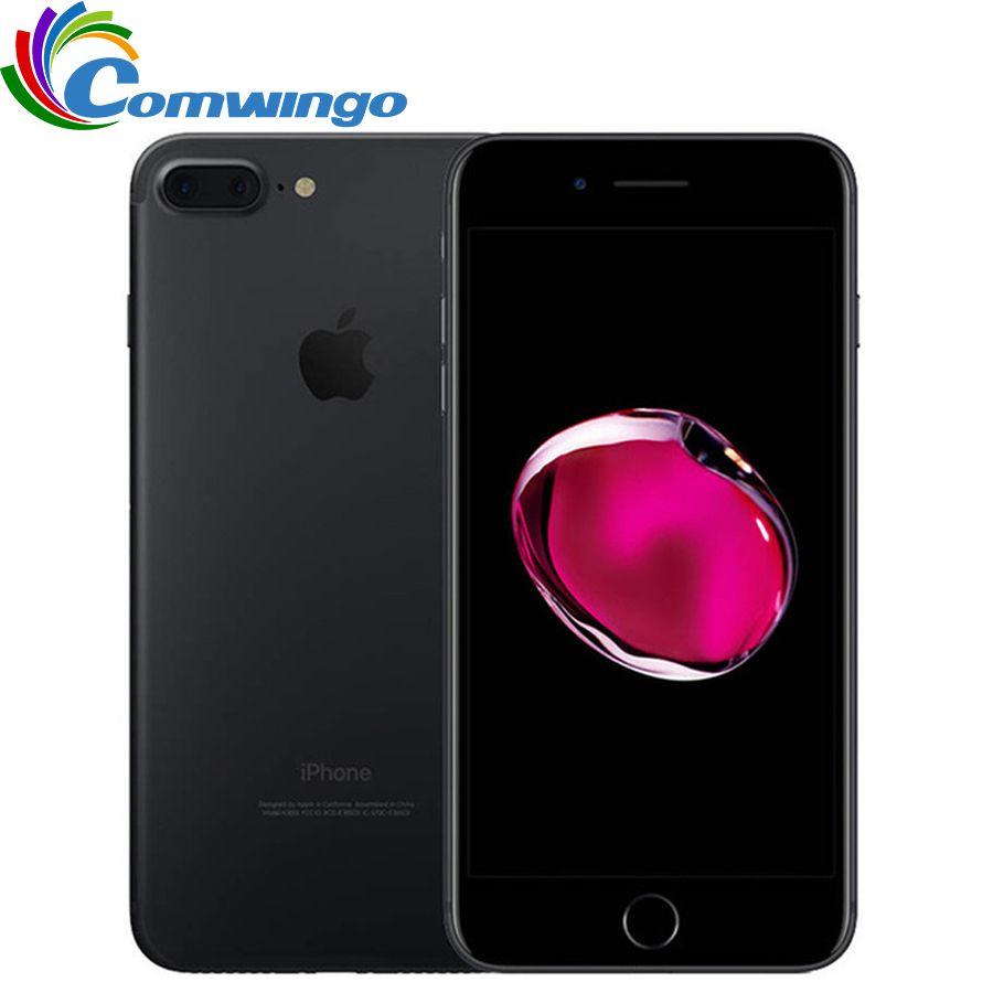 Apple iPhone 7 Plus 3GB RAM 32/128 GB/256 GB ROM IOS 10 Handy 12.0MP Kamera quad-Core Fingerprint 12MP 2910mA iPhone7 Plus