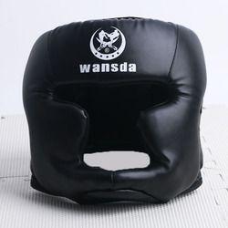 Регулируемый размер, 3 цвета, для детей, мужчин и женщин боксерский шлем, головной убор, закрытый тип, тренировка, защита головы, защита голов...