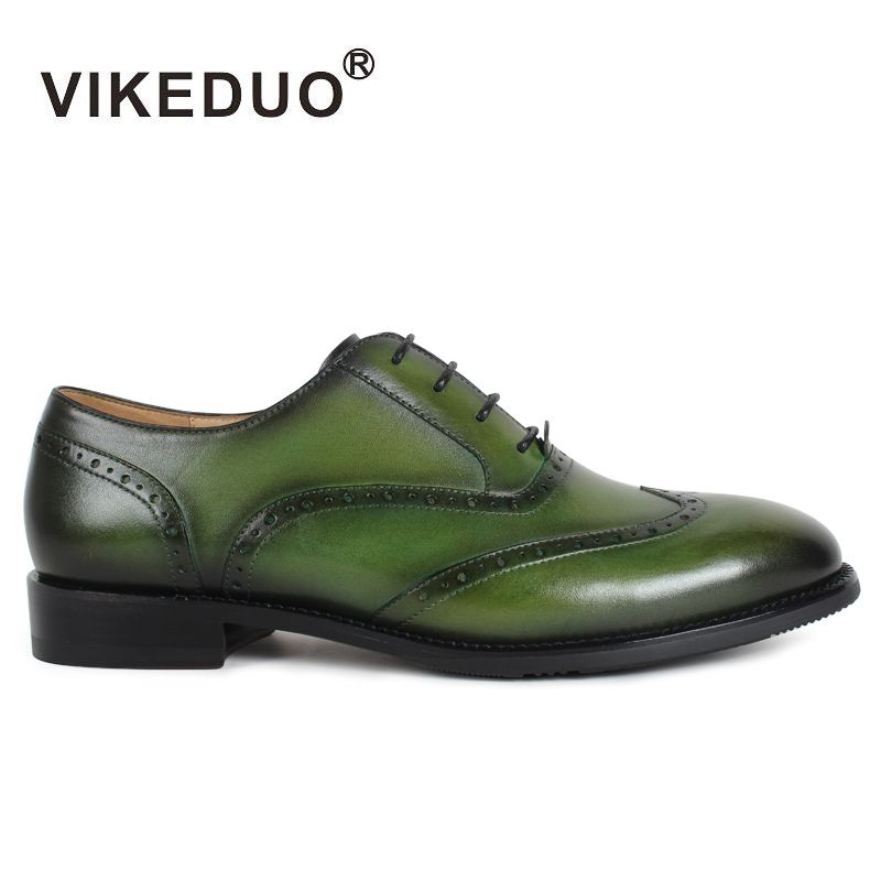 VIKEDUO Luxus Marke Mode dame Schuh 2017 Neueste Brock Geschnitzt Echtem Leder Oxford Formale Schuhe Schuhe Für Teenager Femme
