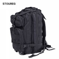 3P Waterproof Tactical Camouflage Bag,Men Women Army Military Hiking Trekking Backpack 600D Nylon Camping Climbing Sport Bag
