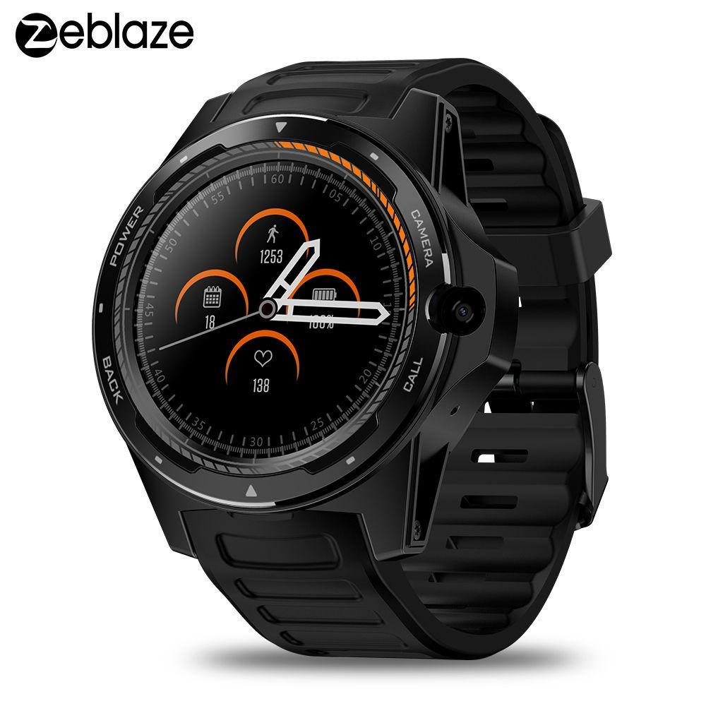 Zeblaze THOR 5 smartwatch 4G Telefon Smart Uhr 2GB + 16GB reloj inteligente 8.0MP Kamera männer smart Armbanduhr GPS WIFI BT uhr