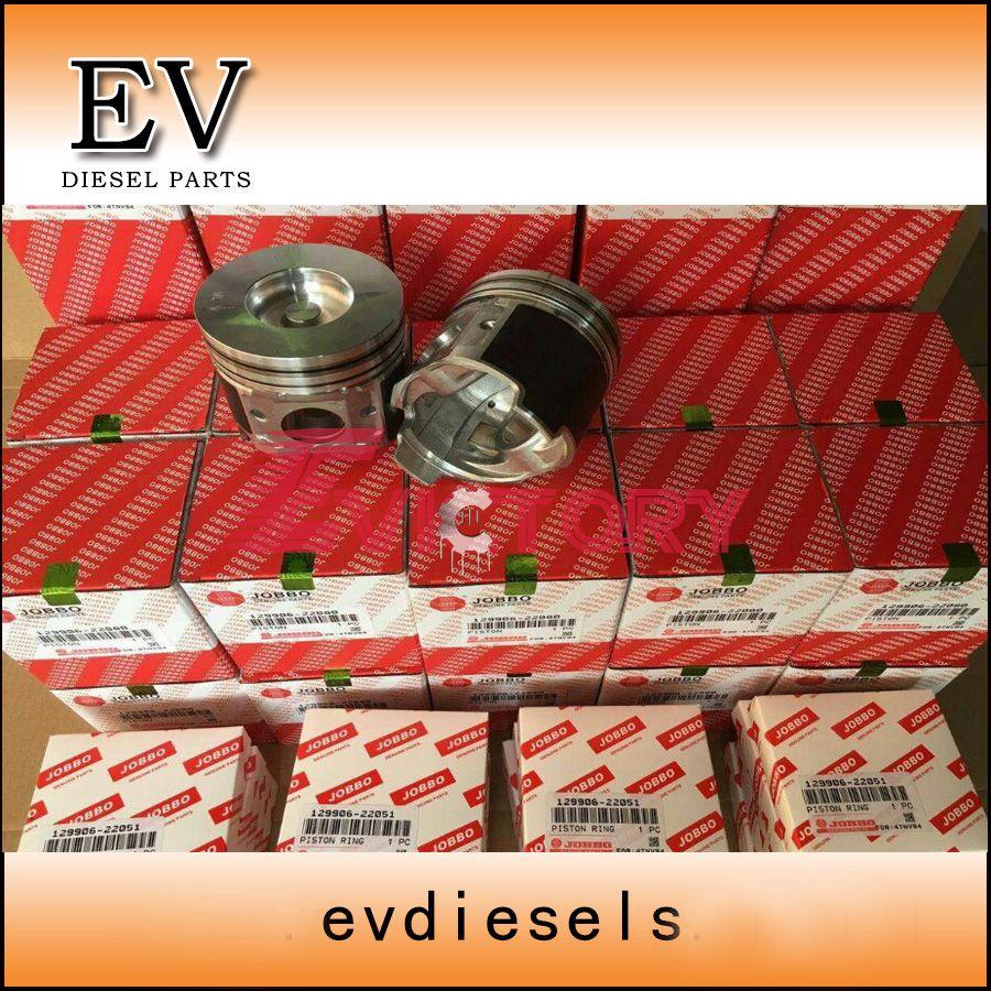 Engine rebuild kit Yanmar 4TNV94 4TNV94L 4TNV94T piston+ring+cylinder liner+full gasket kit+bearing kit