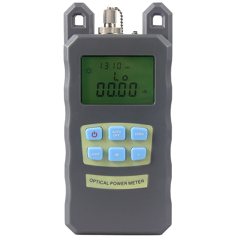 NOUVEAU Portable Réglable Fiber Optique Optique Power Meter Câble Réseaux Testeur FC/SC connecteurs-70 ~ + 10dBm