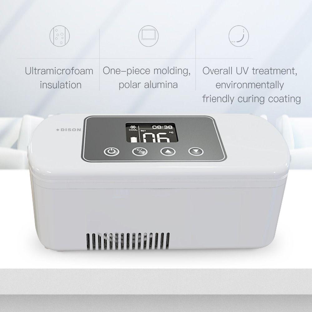 Mini Kühlschrank Insulin Kühltasche Dison 2-8 Grad Tragbare Kühlbox Diabetes Tasche Mini Kühlschrank