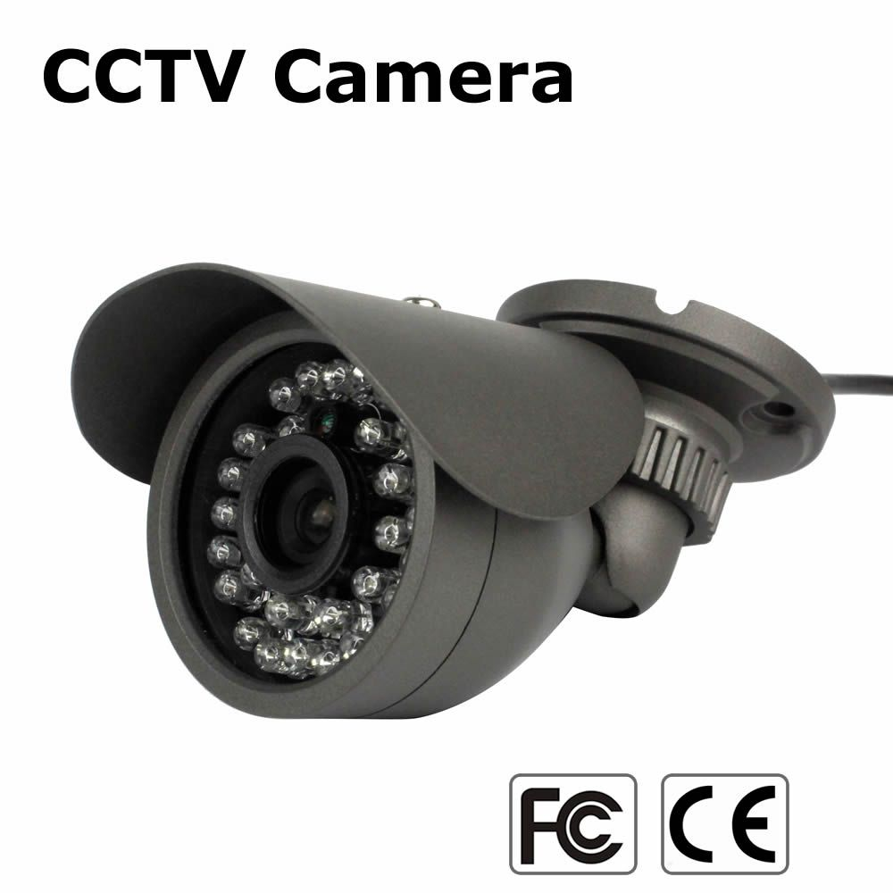 CCTV Caméra Extérieure 700TVL CMOS mini Vidéo Caméra de Surveillance Analogique infrarouge ir de vision nocturne bullet Étanche caméra de Sécurité