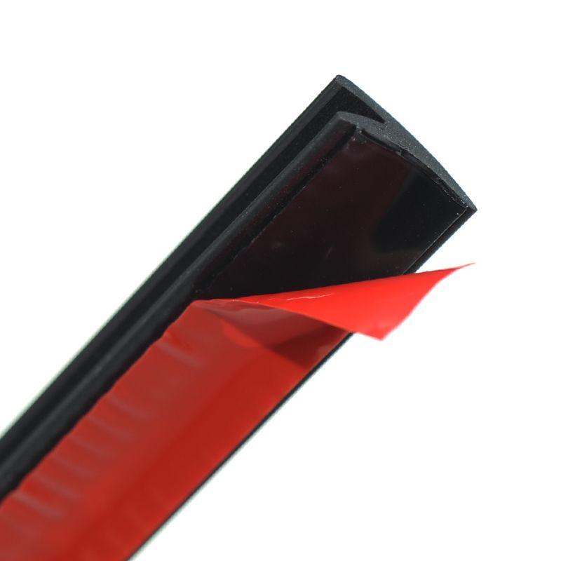 Autocollant de fenêtre de voiture 2 mètres V Type coupe-froid bandes scellées garniture d'étanchéité pour fenêtre de voiture
