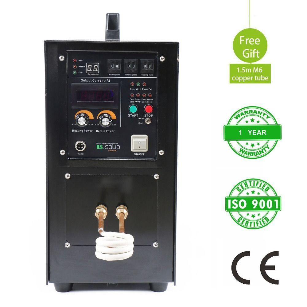 15KW 30-80 KHz Hochfrequenz-induktionsheizung Ofen LH-15A Induktionsheizung 220 V Ein Jahr Garantie