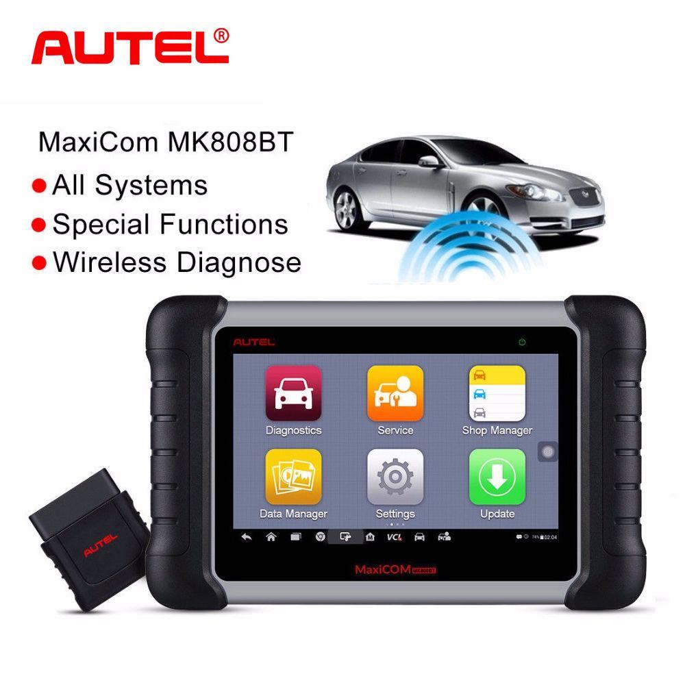 Autel MaxiCom MK808BT Drahtlose Scan OBD2 Auto Scanner Diagnose Werkzeug OBD 2 EOBD Auto Diagnose Scanner besser als Starten X431