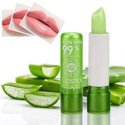 Lidah Buaya Higienis Lipstik Moisture Lip Balm Suhu Berubah Warna Lipstik Tahan Lama Menutrisi Melindungi Bibir Labial Balm