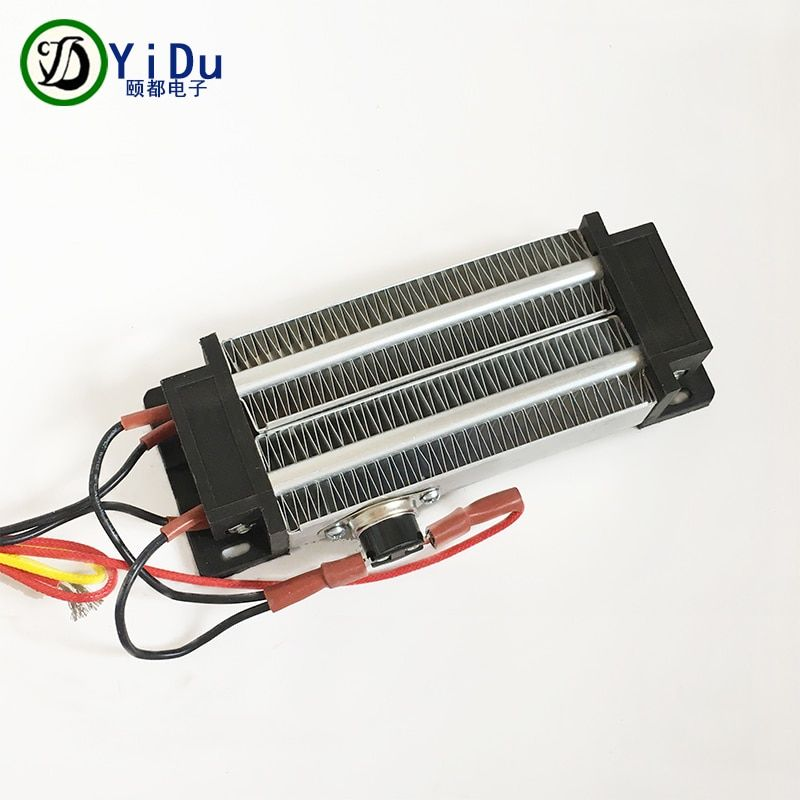 Réchauffeur d'air en céramique PTC 500W 220V réchauffeur électrique d'incubateur isolé