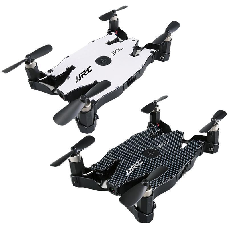 Blanc Noir JJRC H49 Automatique Pliable Wifi Quadcopter Drone Jouet un Retour Key Mode Sans Tête Avec 720 P HD Caméra Mince corps