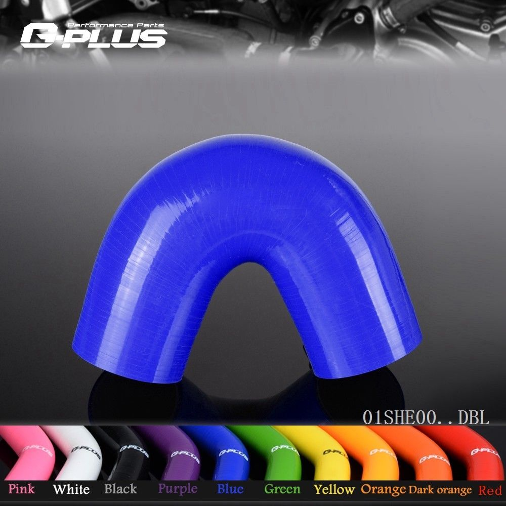 Free Shipping  Gplus Universal 19mm 0.75 135 Degree Silicone Hoses Standard Elbow Hose