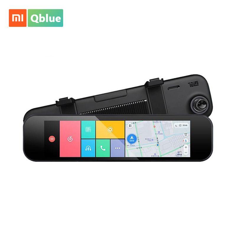 Xiaomi 70 Minutes Rear View Car Camera Registrar WiFi Bluetooth ADAS Smart Rearview Mirror 160 Degree G-sensor GPS F1.8 Car Cam