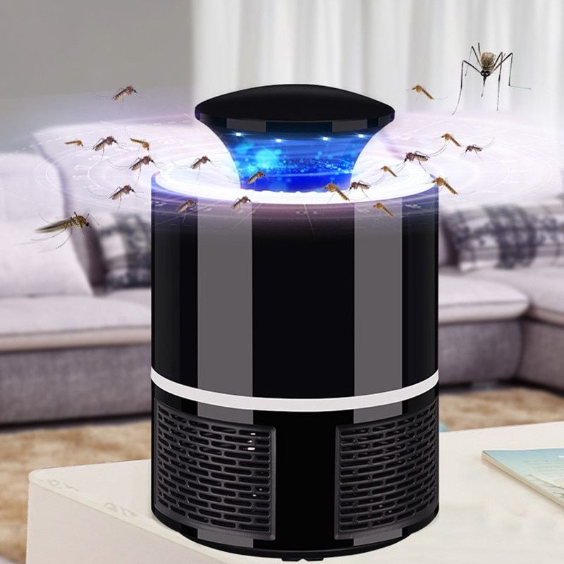 Electric Mosquito Killer Lamp LED Bug Zapper Anti Mosquito Killer Lamp Insect Trap Lamp Killer Home Bedroom Pest Control