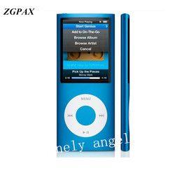 ZGPAX High Quality LCD 1.8 inch 8GB 16GB 32GB Sport MP3 Player Music Playing 4th gen with FM Radio E-book HD Video MP4 Player