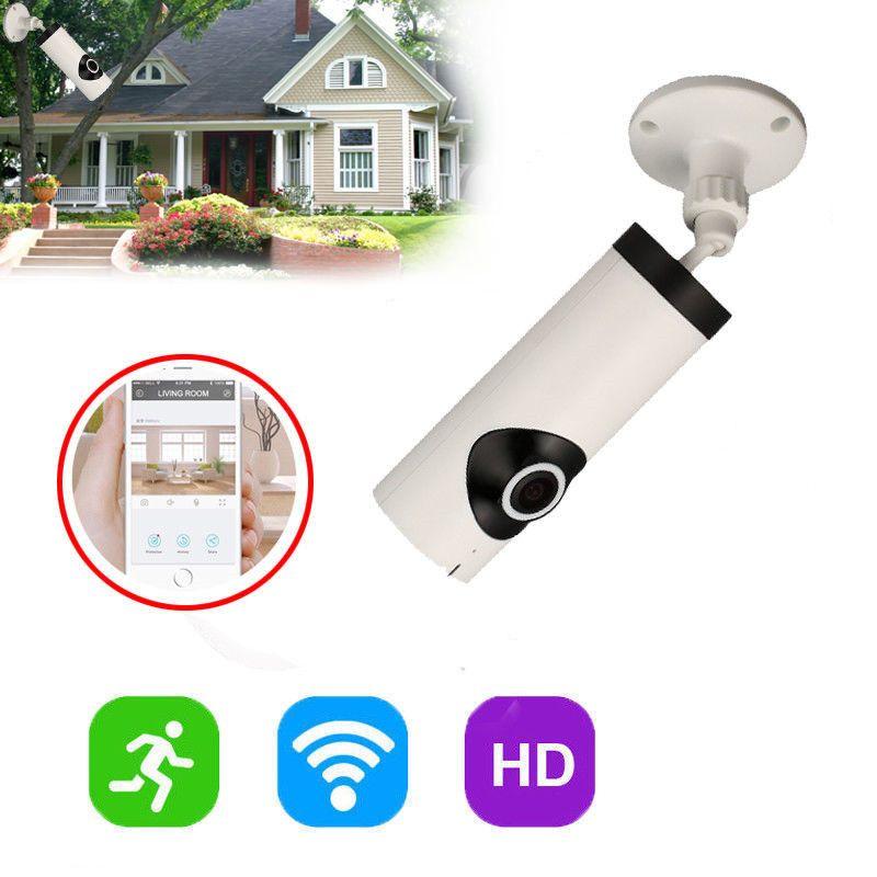 Vollständige Ansicht 180 180-grad-panorama-kamera WiFi Smart Kamera zwei-wege Video Home Security Baby Monitor Nachtsicht EU/us-stecker