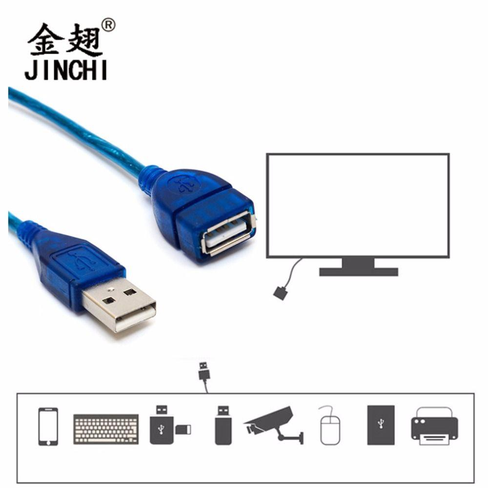 1/1. 5/2/3 Mt Anti-interferenz USB 2.0 Verlängerungskabel USB 2.0 Stecker Auf USB 2.0 Weiblichen daten Sync Kabel Blau