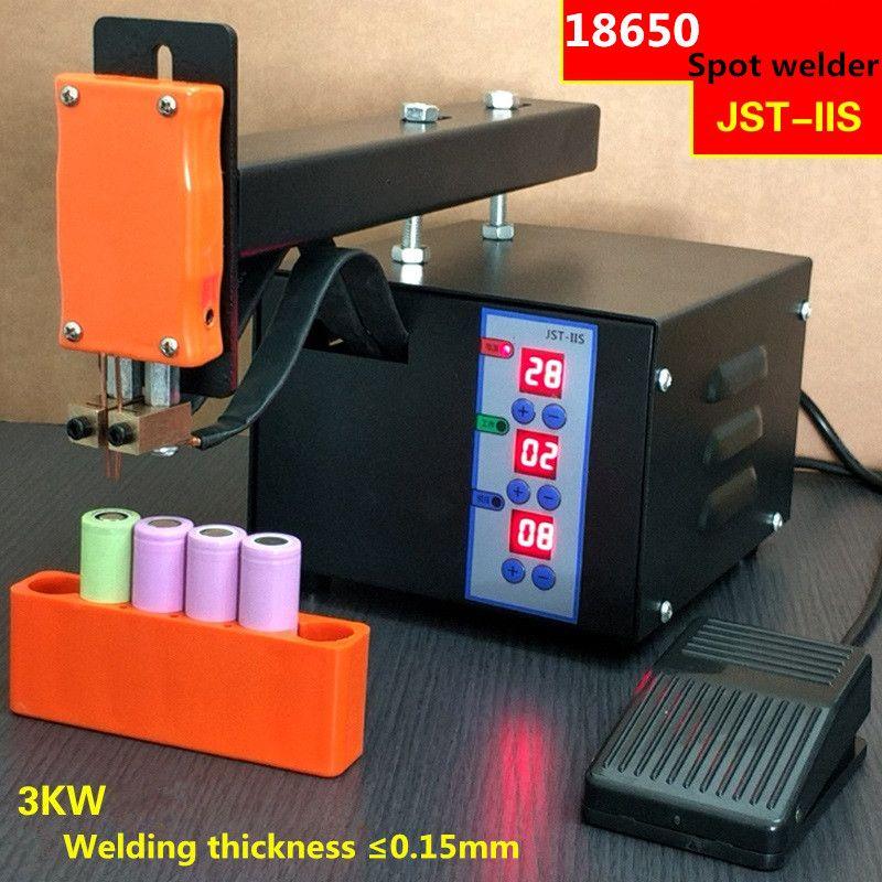 Battery spot welding machine 18650 lithium battery battery pack welding machine 220V/110V 3KW extended welding arm