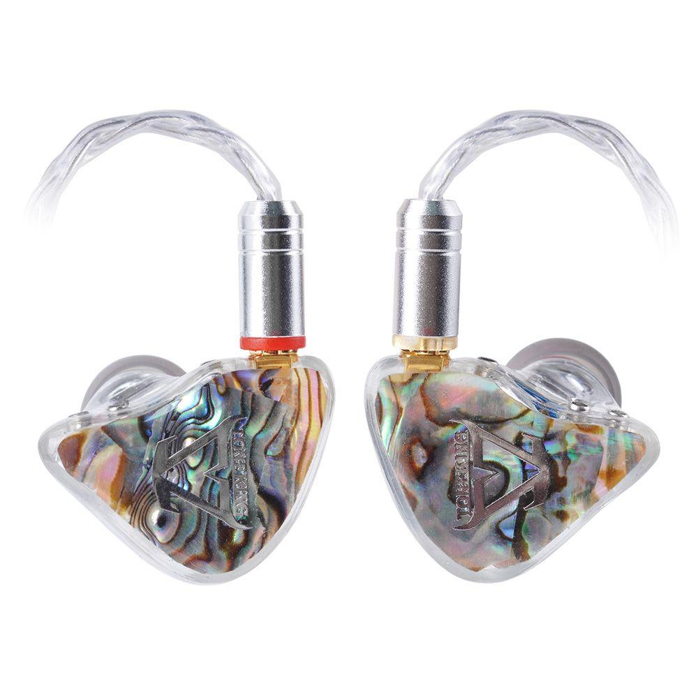 2018 TONEKING BL1 14MM Flache Membran Fahrer In Ohr Kopfhörer Kunden Monitor Ohrhörer Mit MMCX Abnehmbare Verbesserte Silber Kabel