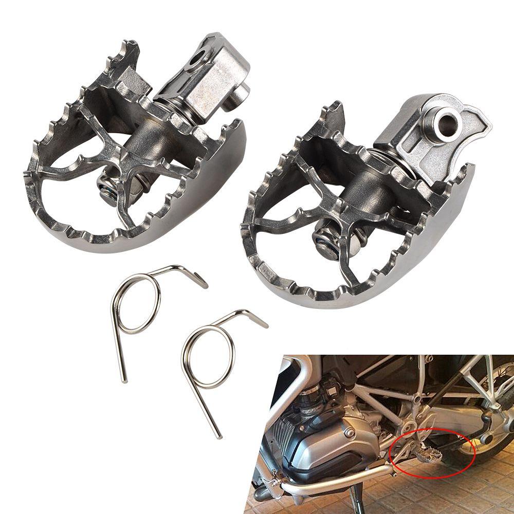 NICECNC Avant Repose-pieds repose-pieds Peg Pour BMW F650GS G650GS 2000-2012 F700GS F800GS 2008-2012 R1150GS ADV 00 -05 R1200GS ADV 13-14