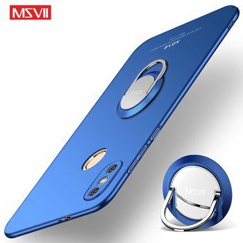 MSVII Cases Xiaomi Redmi Note 5 Pro Cover Ring Cases Redmi Note 5 Global Case Redmi Note5 Car Holder Cover Xiaomi Note5 Pro Case