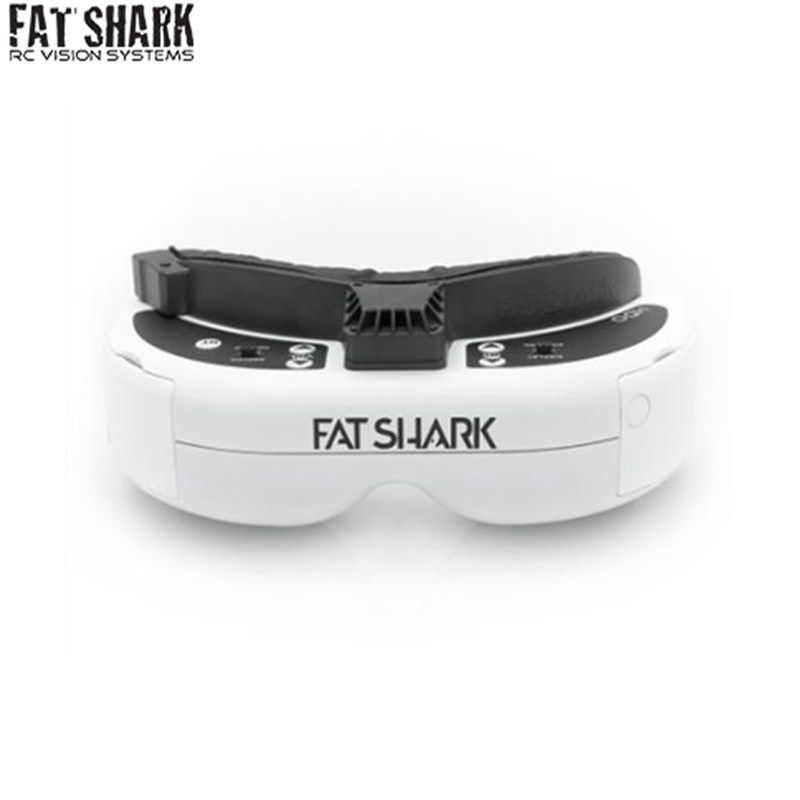 New Arrival FatShark Dominator HDO 4:3 OLED Display FPV Video Goggles 960x720 for RC Drone Racing Camera Quadcopter VS EV100