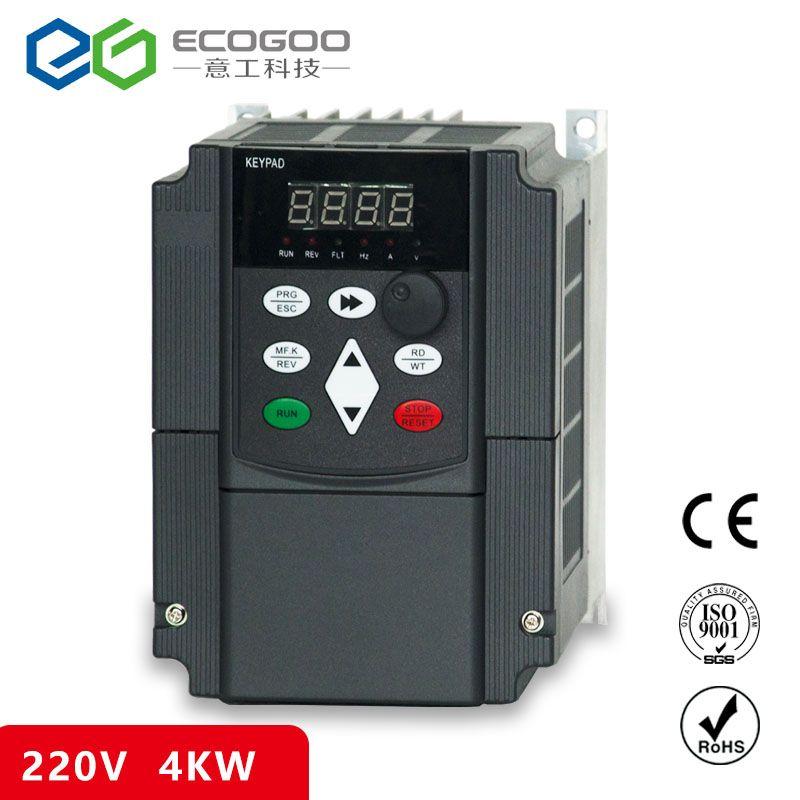 VFD Wechselrichter 4.0KW Eingang Spannung 220 v Ausgang 380 v 4kw VARIABLE FREQUENZ STICK 4KVA FREIES VERSCHIFFEN