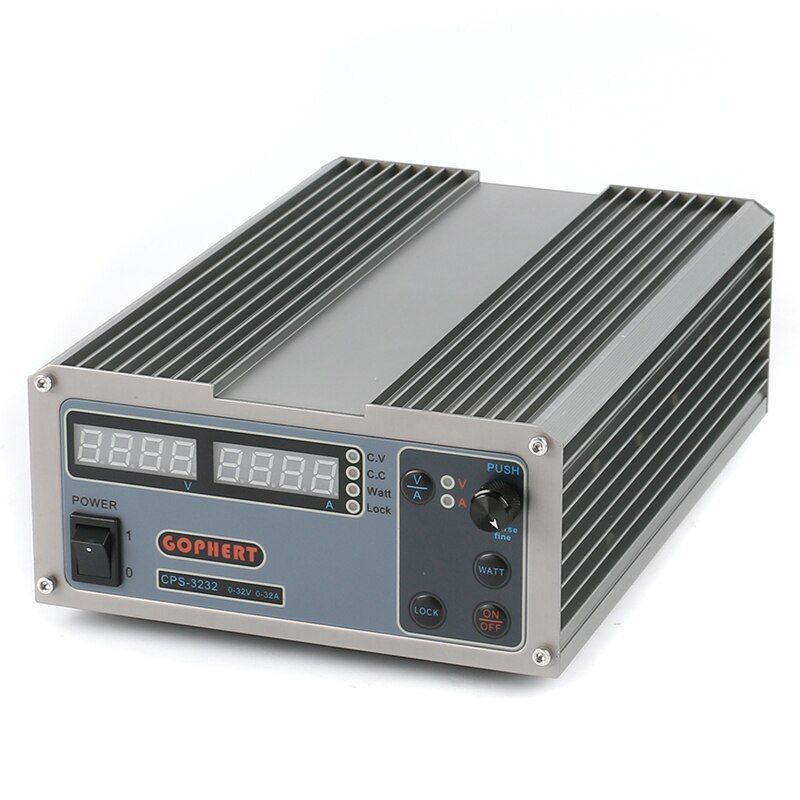 CPS-3232 High efficiency Compact Adjustable Digital DC Power Supply 32V 32A OVP/OCP/OTP Laboratory Power Supply EU AU Plug