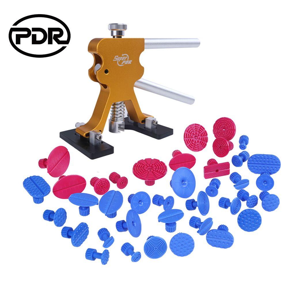 PDR outils bricolage outil de réparation de Dent sans peinture Kit de retrait de Dent de carrosserie de voiture